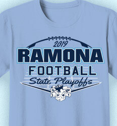 Football T-Shirt Designs - Mascot State Playoffs - idea-53m2