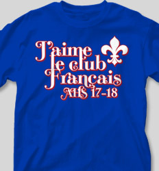 French Club Shirt Designs - Excellence is Not An Act clas-863e6