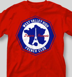 French Club Shirt Designs - French Octagon cool-477f1