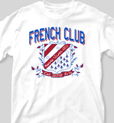 French Club Shirt Designs - Ivy League Crest clas-825i6