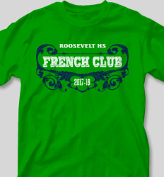 French Club Shirt Designs -  Diversity clas-873d6