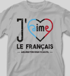 French Club Shirt Designs - Jaime Curvy Heart cool-485j1