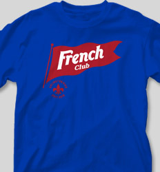 French Club Shirt Designs - French Pennant cool-474f1