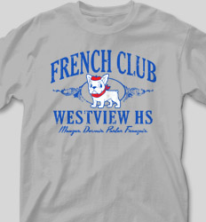 French Club Shirt Designs - Classic Crown clas-890c6