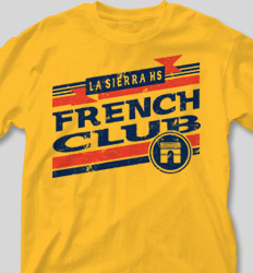 French Club Shirt Designs - Retro Grade cool-217r2