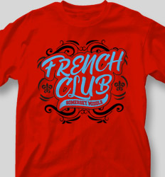 French Club Shirt Designs - French Majestic cool-483f2