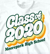 High School Shirts - Retro Year - logo-427r1