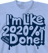 High School Shirts - Percent Done - cool-399p6