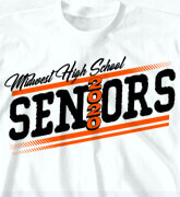 High School Shirts - Senior Tilt - idea-29s1