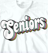High School Shirts - Senior Retro Quality - logo-431s1