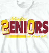 High School Shirts - Senior 2.0 - idea-28s1