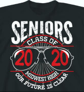 High School Shirts - Senior Vision - idea-30s2