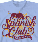 High School Shirts - Authentic Spanish - cool-773a1