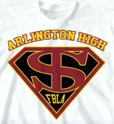 High School Shirts - Super Crest - clas-781w9