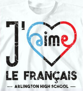 High School Shirts - Jaime Curvy Heart - cool-485j1