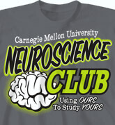 High School Shirts - Neuroscience Club - cool-76n1