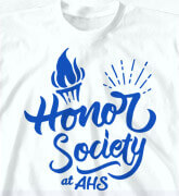 High School Shirts - Classic Honor Society - cool-491c3