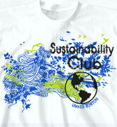 High School Shirts - Green World - clas-931h3