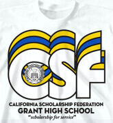 High School Shirts - Nassau - clas-792p6