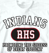 High School Shirts - Athletic - clas-480e6