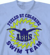 High School Shirts - Aquatic Circle - idea-160a1