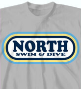 High School Shirts - Swim and Dive - idea-156r1