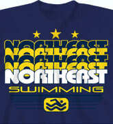 High School Shirts - Water Medallion - desn-109w8