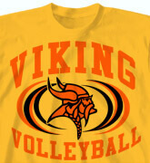 High School Shirts - Volleyball Intensity - idea-200v1