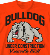 High School T-Shirts - Bulldog Swag - cool-216b1