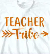 High School T-Shirts - Teacher Tribe - cool-433t1