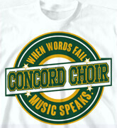 High School T-Shirts - Choir Legacy - idea-120c1
