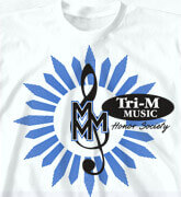 High School T-Shirts - Music Event - desn-319m5