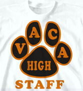 High School T-Shirts - Paw Names - clas-906q2