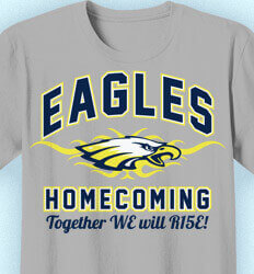 Homecoming Shirt Designs  - Collegiate Heater - desn-353d9