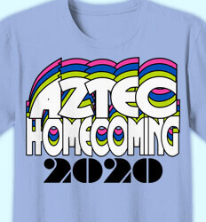 Homecoming T-Shirt - Football Jersey desn-53f8