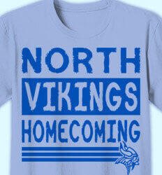 Homecoming T Shirt - Shield of Rock clas-949s5