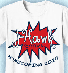 Homecoming T Shirt - Homecoming Fever clas-307h6