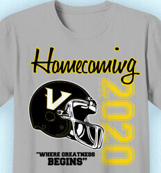 Homecoming T Shirt - Bleed Colors cool-8b2