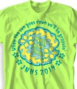 Homecoming T Shirt - Hawaiian Crown clas-238h7