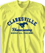 Homecoming T Shirt - Athletic Sport clas-507b7