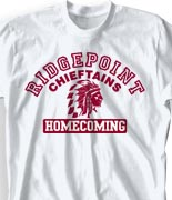 Homecoming T Shirt - Aloha Athletics clas-831r4