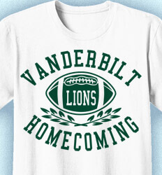 Homecoming T Shirt - Athletic Arch clas-728c6
