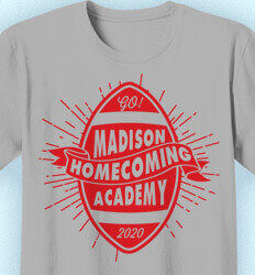 Homecoming T Shirt - Class Decal desn-762e2