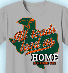 Homecoming Shirts - All Roads Lead Us - idea-352a1