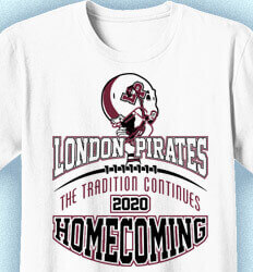 Homecoming Shirts - Game Tradition - cool-277g5