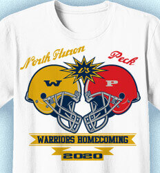 Homecoming Shirts - Football Clash - cool-313f5