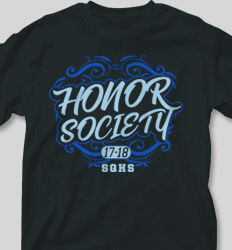Honor Society Shirt Designs -  Honor Majestic cool-487h2