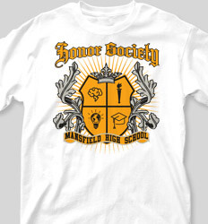 Honor Society Shirt Designs Laurel Crest 2 clas-939l6