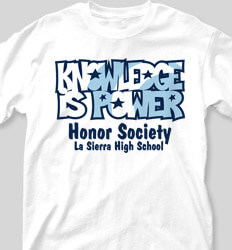 Honor Society Shirt Designs G Bubble clas-104p1