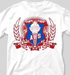 Honor Society Shirt Designs Kappa Crest clas-937l4